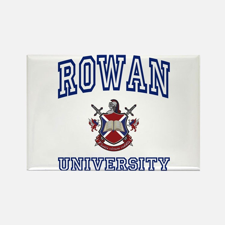 ROWAN University Rectangle Magnet
