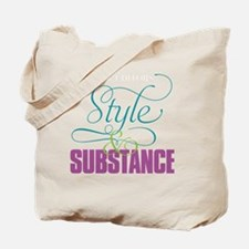 Copy Editors—Style  Substance Tote Bag