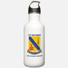 1-14 CAV RGT WITH TEXT Water Bottle