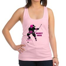 hockey_chick Racerback Tank Top