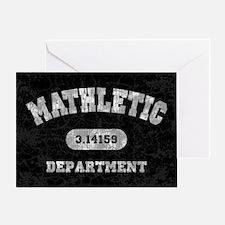 math-dept-CRD Greeting Card