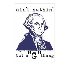 Nuthin But a G Thang Postcards (Package of 8)