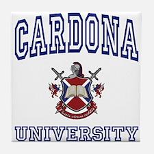 CARDONA University Tile Coaster