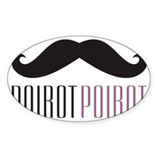 PoirotMugSM Bumper Stickers