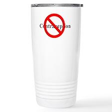 nocontraception Ceramic Travel Mug