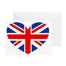 british heart Greeting Card