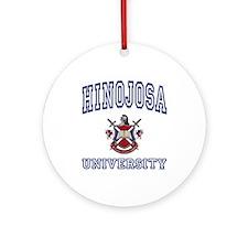 HINOJOSA University Ornament (Round)