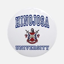 HINOJOSA University Ornament (Round)