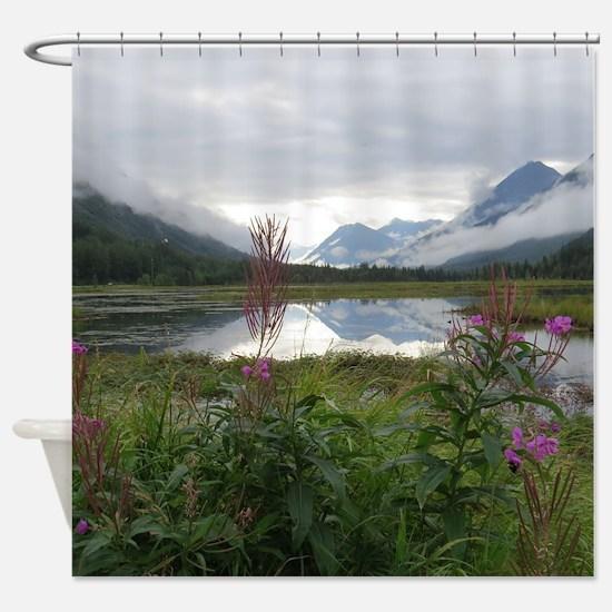 Portage Valley Kenai Peninsual Shower Curtain