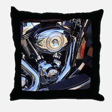 harleymotor Throw Pillow