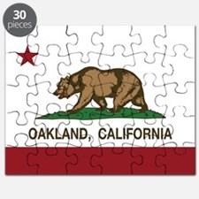 california flag oakland Puzzle
