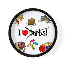 carbs Wall Clock