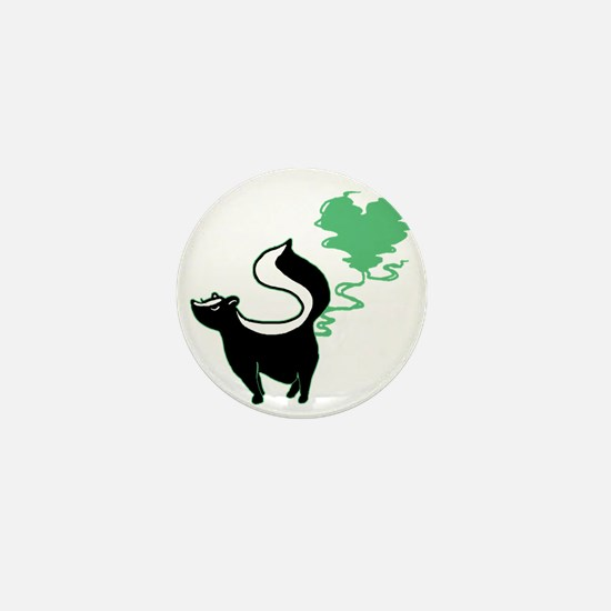 love-stinks-skunk Mini Button