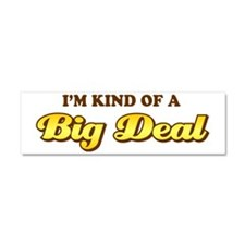 Anchorman-(white) Car Magnet 10 x 3