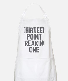 thirteen point freaking one gray Apron