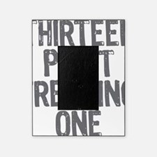 thirteen point freaking one gray Picture Frame