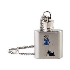Renee and Scotty Flask Necklace