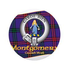 """Montgomery Clan 3.5"""" Button"""