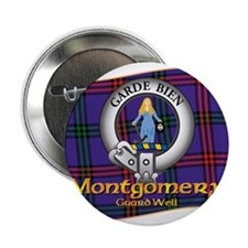 "Montgomery Clan 2.25"" Button"