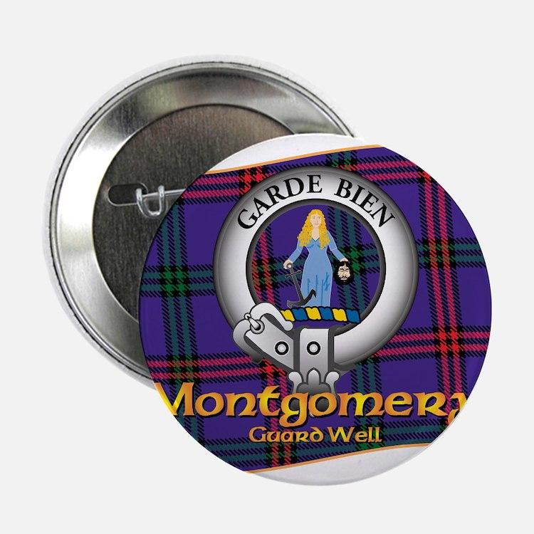 """Montgomery Clan 2.25"""" Button"""