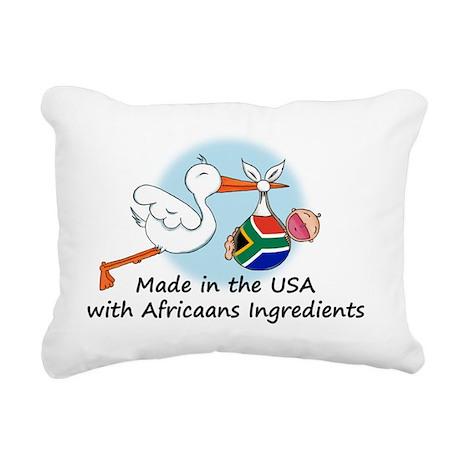 stork baby sa 2 Rectangular Canvas Pillow