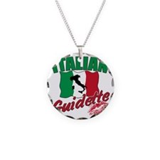 italian guidette(blk) Necklace