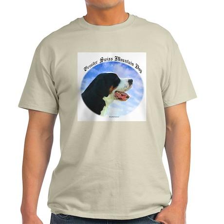 Swissy Clouds Ash Grey T-Shirt