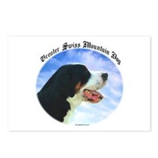 Swissy Clouds Postcards (Package of 8)