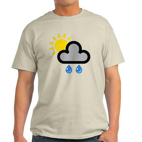 showers001-brighterRain Light T-Shirt