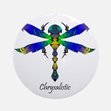 Comet Dragonfly tshirt Round Ornament