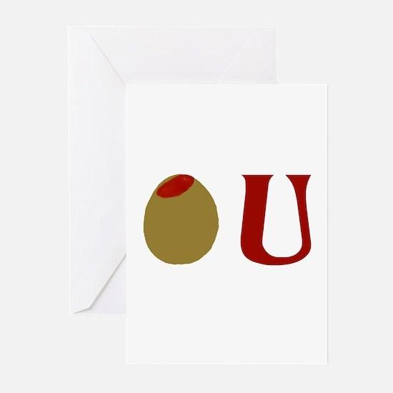 Olive U Greeting Cards (Pk of 10)