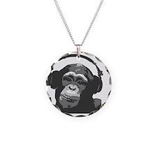 DJ MONKEY light grey Necklace