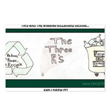 Trey Yates - Riley Elemen Postcards (Package of 8)