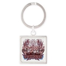 Twilight Apotamkin Blue Square Keychain