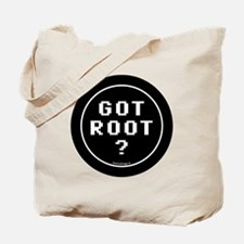 btn-geek-got-root Tote Bag