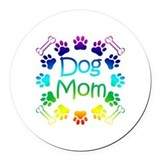 Dogs Round Car Magnets