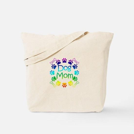 """""""Dog Mom"""" Tote Bag"""