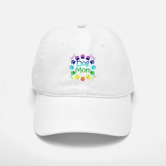 """Dog Mom"" Baseball Baseball Cap"