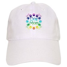 """Dog Mom"" Baseball Cap"
