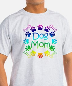 """Dog Mom"" T-Shirt"