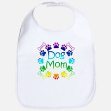 """Dog Mom"" Bib"