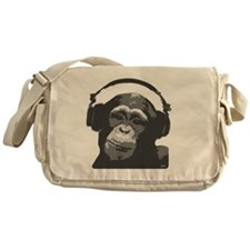 DJ MONKEY grey Messenger Bag