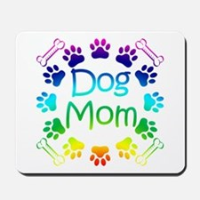 """Dog Mom"" Mousepad"
