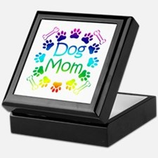 """Dog Mom"" Keepsake Box"