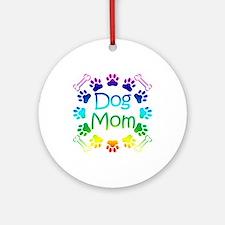 """Dog Mom"" Ornament (Round)"