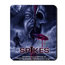 Spikes_Poster_Illustrated Mousepad