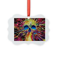Color Skull Ornament
