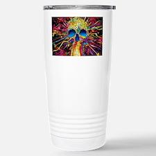 Color Skull Travel Mug