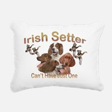 Irish Setters Cant Have  Rectangular Canvas Pillow