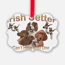 Irish Setters Cant Have Just One Ornament